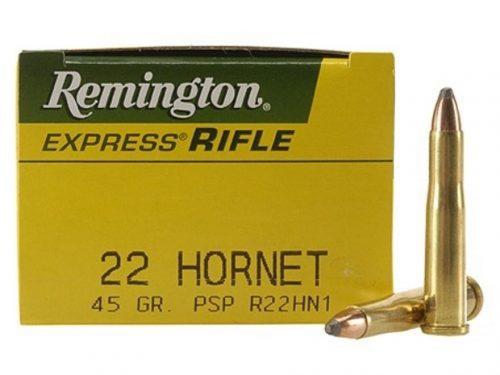 Remington 22 Hornet 45 gr psp pack of 50 $ 82.35