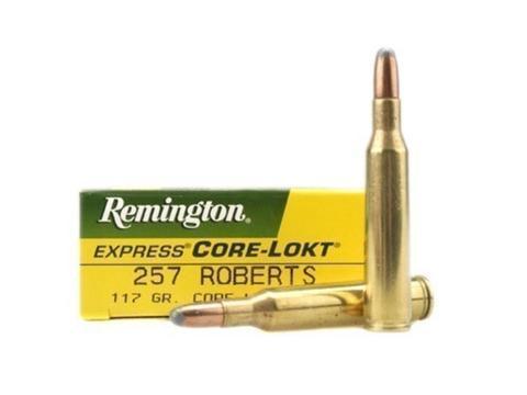 Remington 257rob 117gr coke lokt R257 Box of 20 $ 61.90