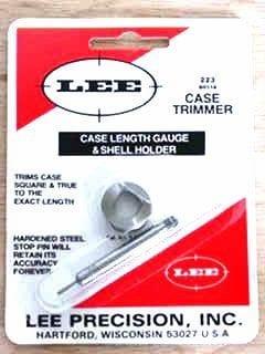 Lee 223 rem case length gauge and shell holder $ 16.70