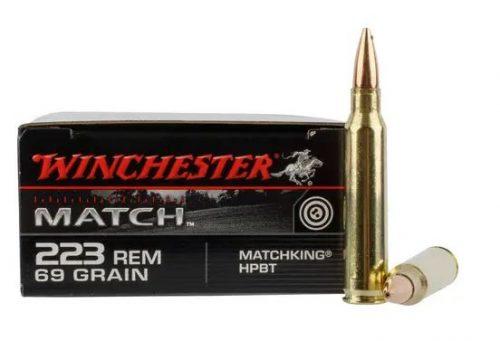 Winchester 223rem 6gr sierra match king ammo Box of 20 $ 26.20