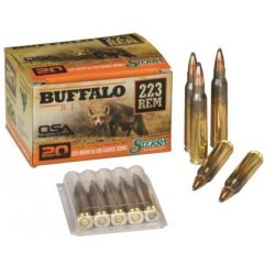 ADI 223rem 55gr Sierra game king boat tail soft point ammo Box of 20$ 25.00